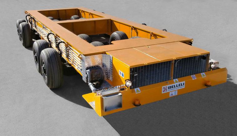 STD 400 ton Multiwheel Trailer