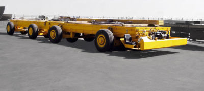 STD 200 ton Multiwheel Trailer