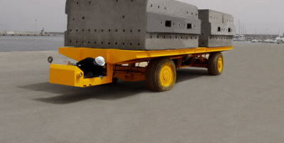 STD 80 ton Multiwheel Trailer