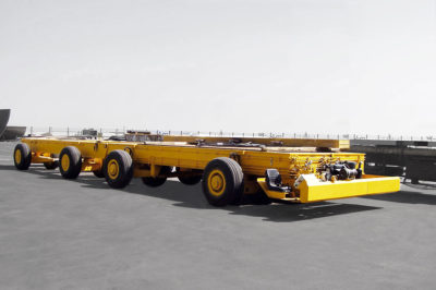 STD 200 ton MultiwheelTrailer