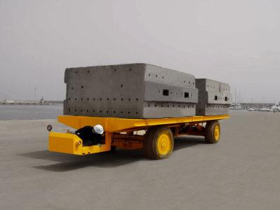 STD 80 ton MultiwheelTrailer